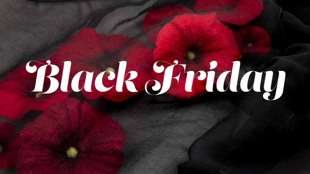 black friday dans mon corbillon écharpe coquelicots rouge