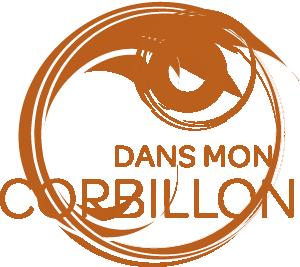 logo Dans mon corbillon Full feuilles Coul