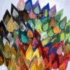 Ecusson patch feuilles feutre brodees 2020-11-04
