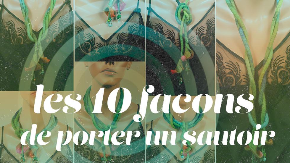 10 façons de porter un sautoir