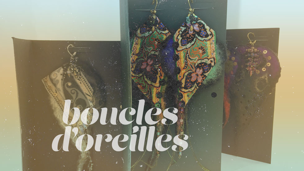 corbillon collection boucles d'oreilles