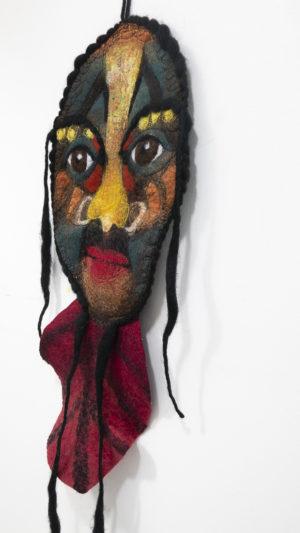 Déco murale masque africain dans mon corbillon®